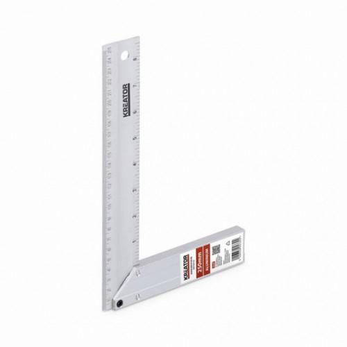 Úhelník hliníkový KRT704125 Kreator, 250mm
