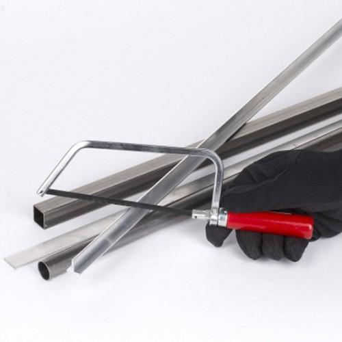 Pila na železo mini s dřevěnou rukojetí KRT804002, 150mm