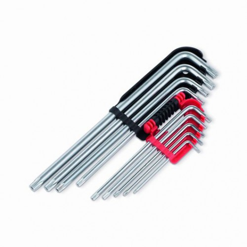 Sada extra dlouhých klíčů Torx, KRT408302, 9 kusů