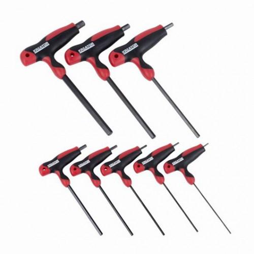 Sada klíčů HEX-T, KRT410007, 8 kusů