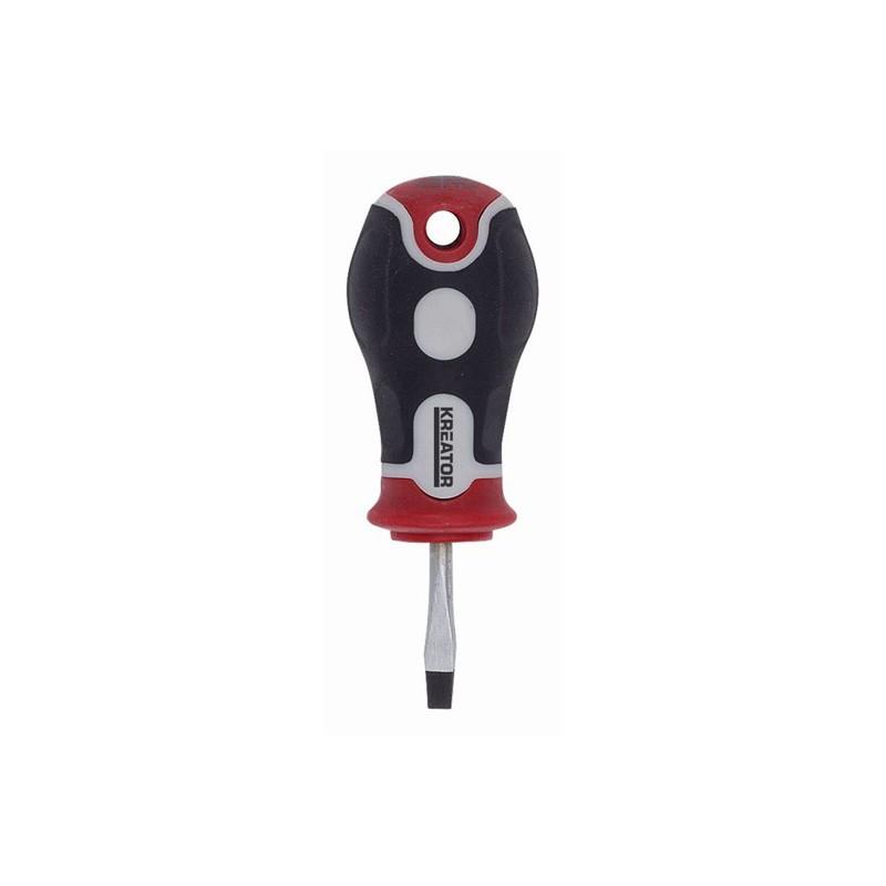 Šroubovák plochý krátký, KRT405101, 4 x 25mm