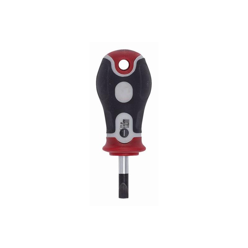 Šroubovák plochý krátký KRT405102 Kreator, 6,5 x 25mm