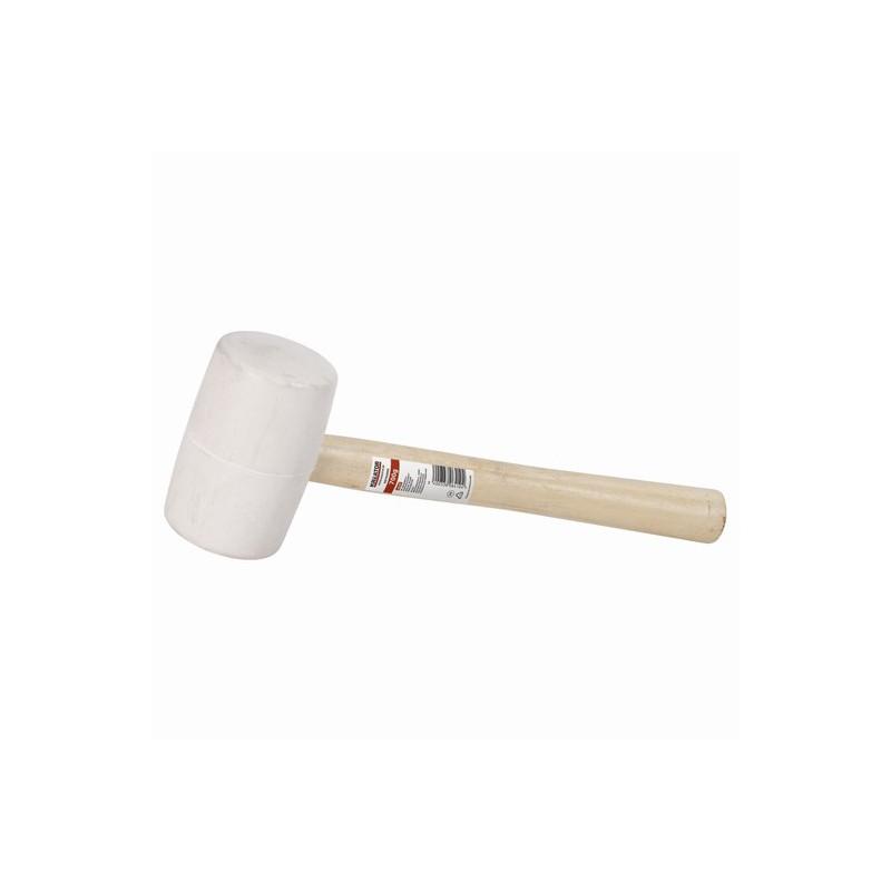 Palice gumové bílé s dřevěnou rukojetí Kreator, 450g - 900g