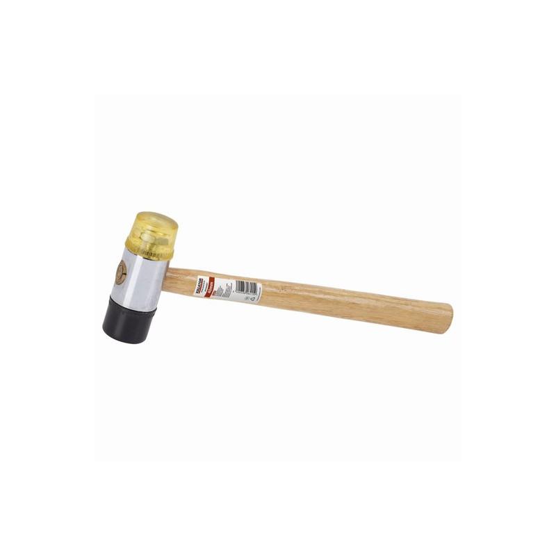 Palice gumová/plastová s dřevěnou rukojetí KRT904007 Kreator, pr. 40mm
