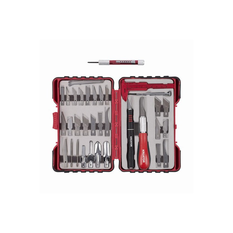 Sada modelářských nožů KRT452002 Kreator, 36 kusů