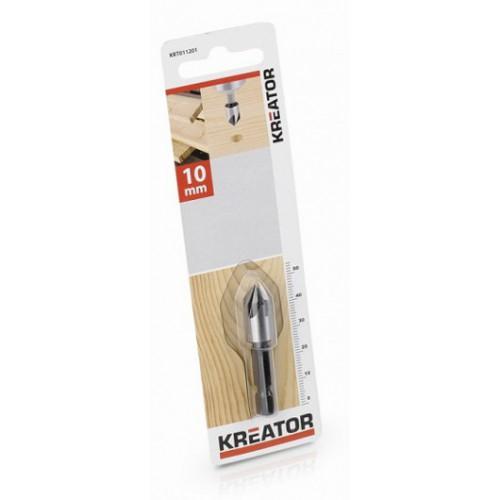 Kuželový záhlubník KRT011201, 10mm