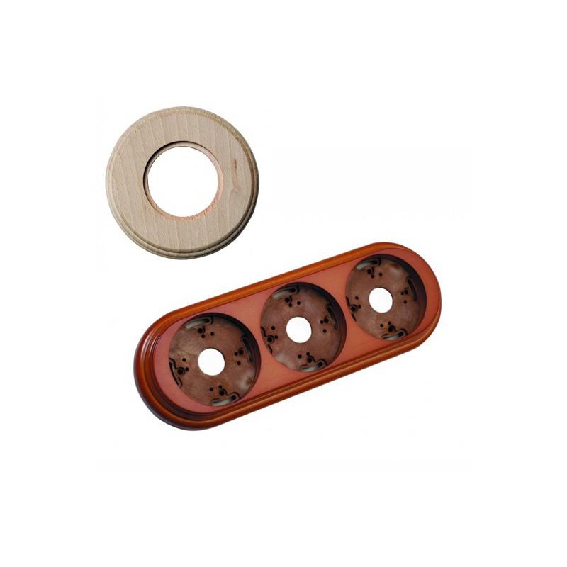 Dřevěný rámeček trojnásobný 30-803-00 Garby, natural