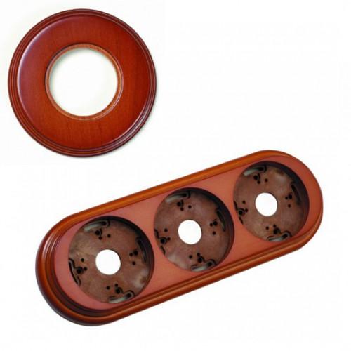 Rámeček dřevěný trojnásobný 30-803-19