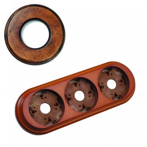 Rámeček dřevěný trojnásobný 30-803-21