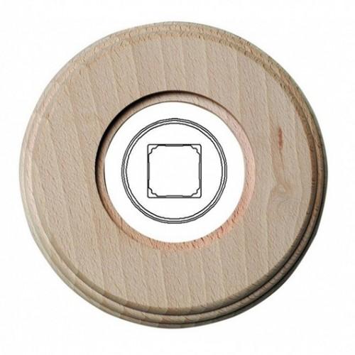 Dřevěný rámeček jednonásobný 31-821-00, natural