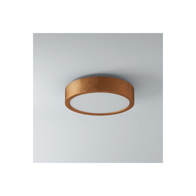 Stropní svítidlo keramické 1572/945 ze série Omega - měděná
