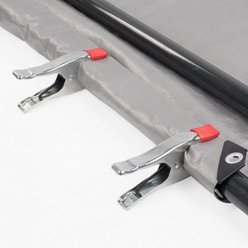 Svěrka pružinová KRT553001 Kreator, 150mm, 4 kusy