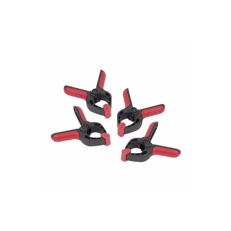 Svěrka pružinová KRT553101 Kreator, 75mm, 4 kusy
