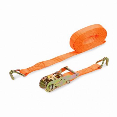Upínací pás ráčnový s háky KRT555005 Kreator, 480kg/5m