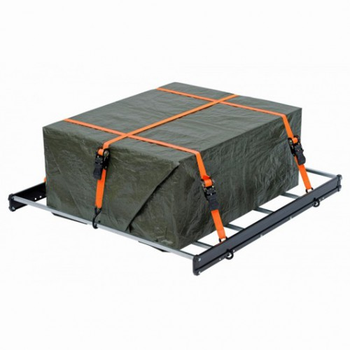 Upínací pás ráčnový s háky KRT555006 Kreator, 225kg/4,5m, 2 kusy