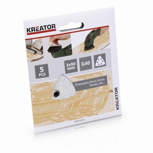 Sady brusných papírů KRT210053