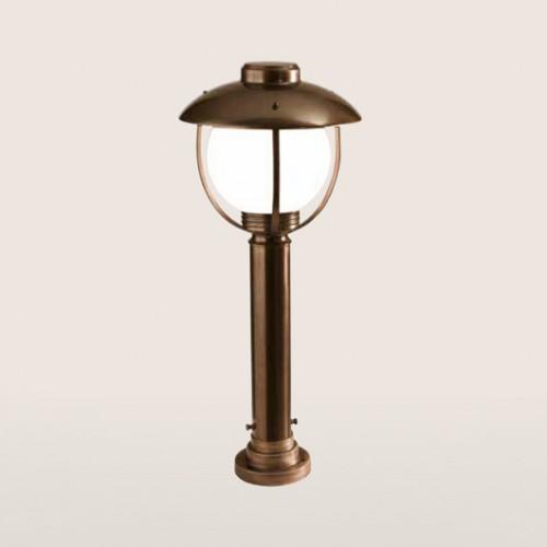 Sloupkové svítidlo exteriérové 192/1-PC-BR