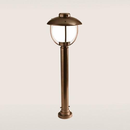 Sloupkové svítidlo exteriérové 192/1-GR-BR