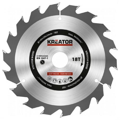 Pilový kotouč na dřevo KRT020404 Kreator, pr. 140mm