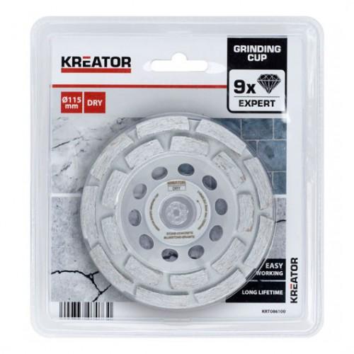Kotouč brusný diamantový KRT086100 Kreator, pr. 115mm