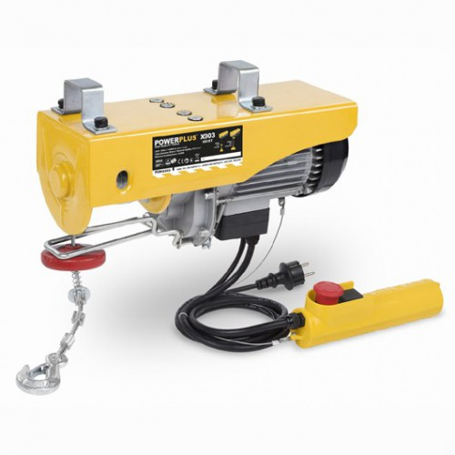 Naviják lanový elektrický POWX903 Powerplus, 1300W