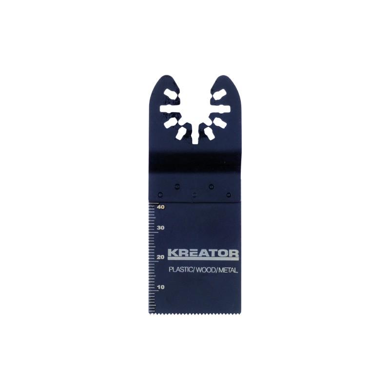 Nůž řezný na dřevo, plast a kov KRT990011 Kreator, 34 x 40 x 1,4mm