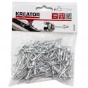 Nýty trhací KRT618102, 3,2 x 6,4mm, 100 kusů