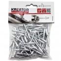 Nýty trhací KRT618104, 4,8 x 6,4mm, 100 kusů