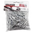 Nýty trhací KRT618107, 4,8 x 20mm, 100 kusů