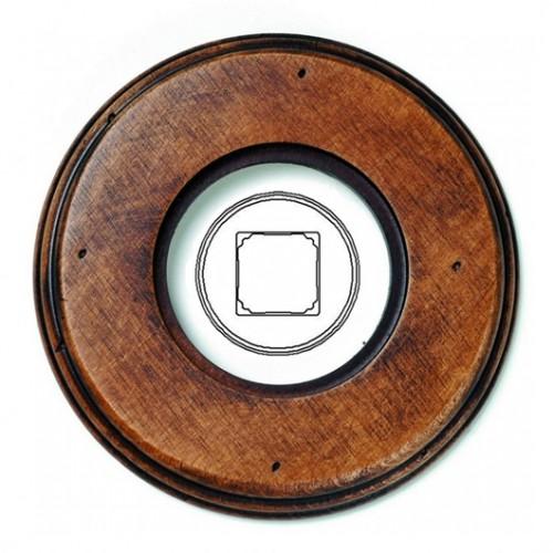 Rámeček dřevěný jednonásobný 31-821-21, staré dřevo