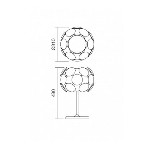 Stolní lampa moderní 01-731 ze série Joy