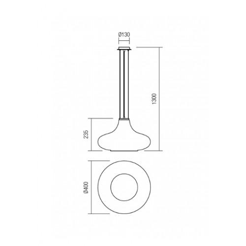 Závěsné svítidlo moderní 01-1144 ze série Aferim