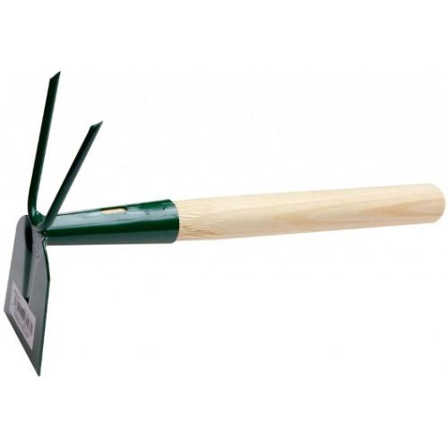 Motyčka plochá 144704 ocelová s dřevěnou nísadou a hroty