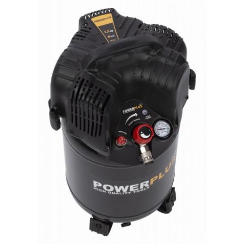 Kompresor POWX1731 vertikální bezolejový