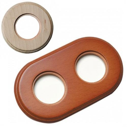 Rámeček dřevěný dvounásobný 31-802-00, natural