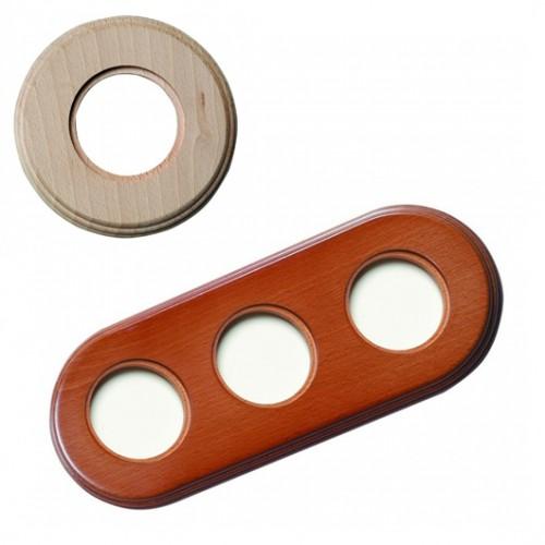 Rámeček dřevěný trojnásobný 31-803-00