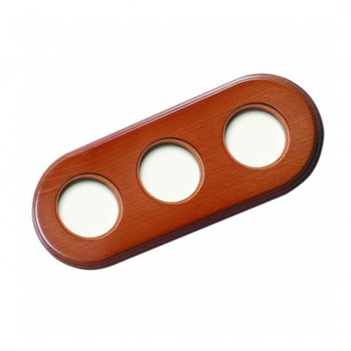 Rámeček dřevěný trojnásobný 31-803-19