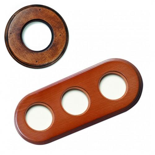 Rámeček dřevěný trojnásobný 31-803-21