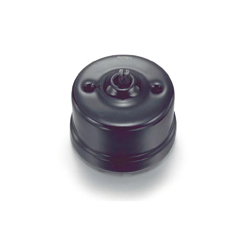 Vypínač otočný 30-306-27, černá
