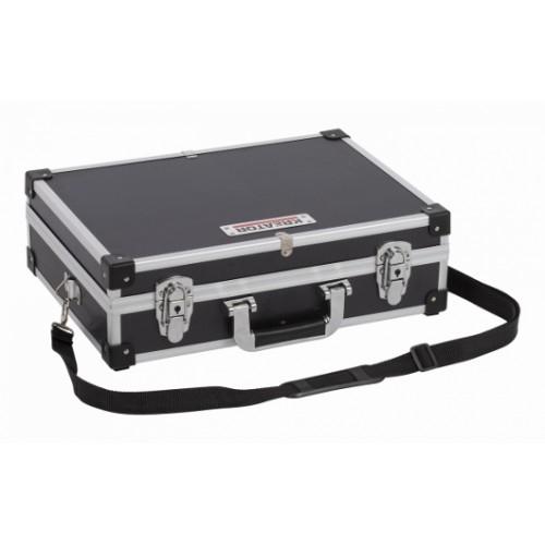 Kufr hliníkový KRT640101B na nářadí, černý