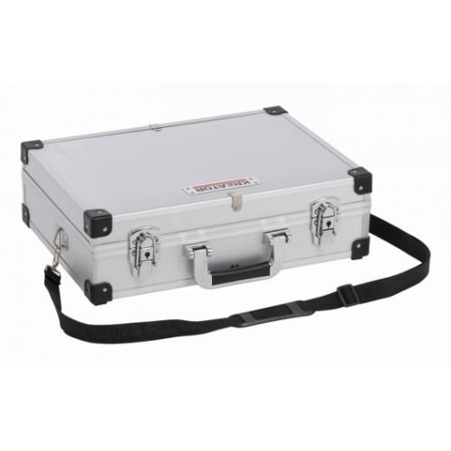 Kufr hliníkový KRT640101S na nářadí, stříbrný