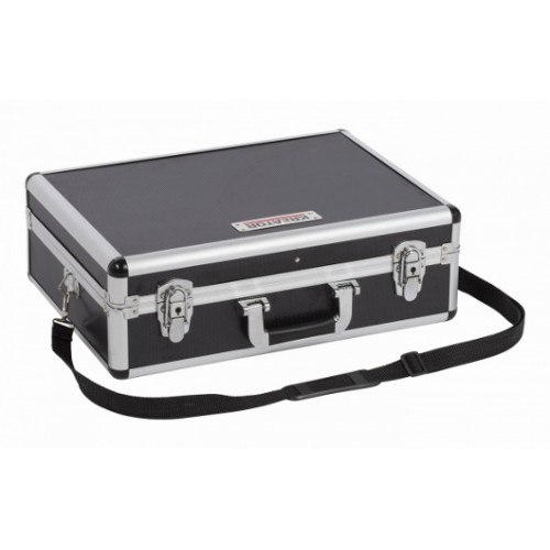 Kufr hliníkový KRT640102B na nářadí, černý