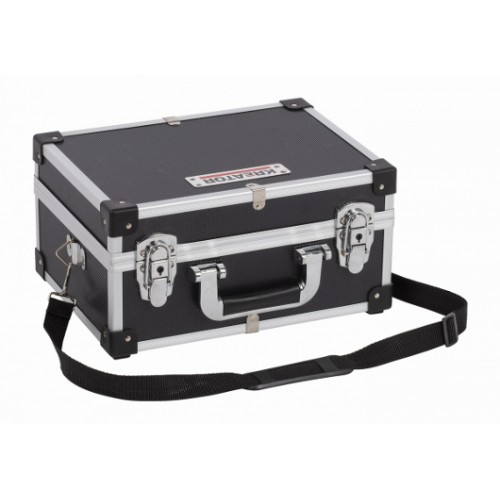 Kufr hliníkový KRT640106B na nářadí, černý