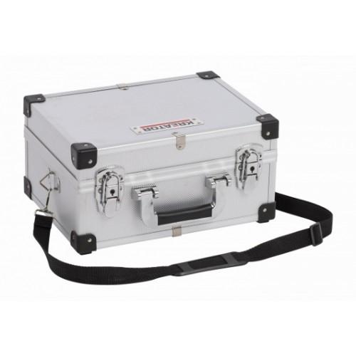 Kufr hliníkový KRT640106S na nářadí, stříbrný