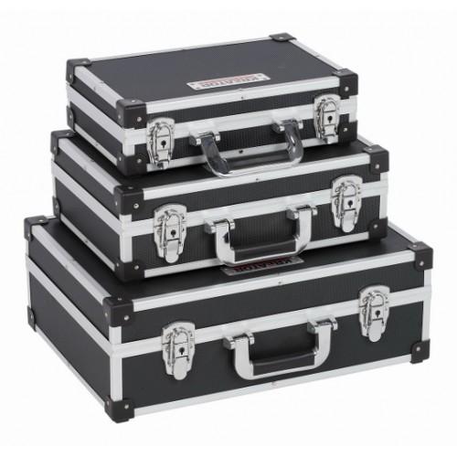 Kufr hliníkový KRT640401B 3 v 1, černý