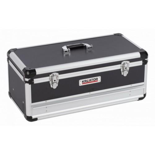 Kufr hliníkový KRT640603B na nářadí Kreator, černý