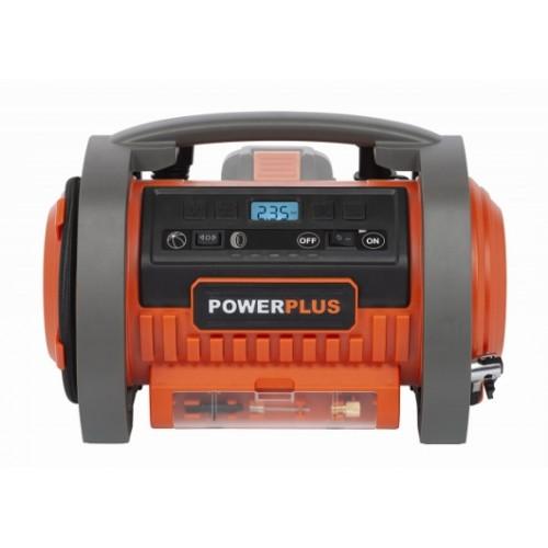 Kompresor akumulátorový POWDP7040 Powerplus, 20V a 40V