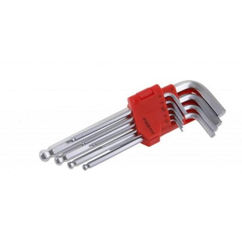 Sada klíčů HEX 118498, 9 kusů