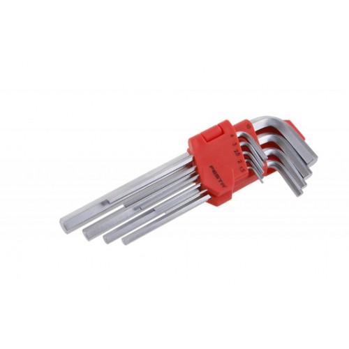 Sada klíčů HEX 118496, 9 kusů