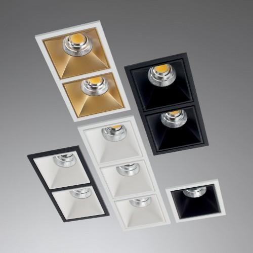LED vestavné svítidlo DM01NW50GD ze série XDOMINO, 15W, denní bílá